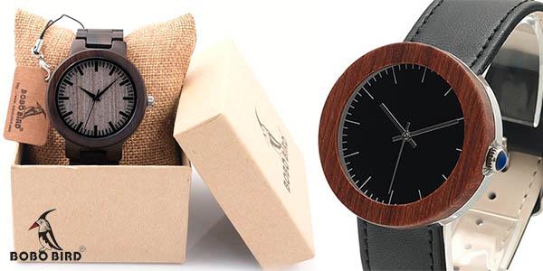 Relojes de madera BOBO BIRD
