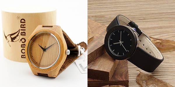 Relojes de Bambú BOBO BIRD