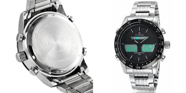 Reloj Naviforce 9024 con correa de acero inoxidable