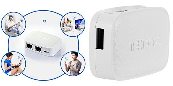 Punto de acceso y repetidor WiFi NEXX WT3020F en Rosegal