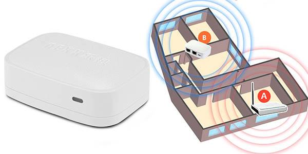 Punto de acceso y repetidor WiFi NEXX WT3020F barato