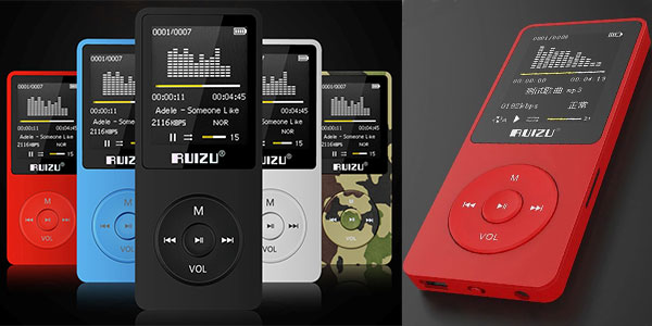 Reproductor de MP3 Ruizu X02 de 8 GB barato