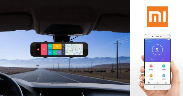 Retrovisor inteligente Xiaomi al mejor precio en Gearbest