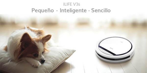 Robot aspirador ILIFE V3s Pro para pelo de mascotas