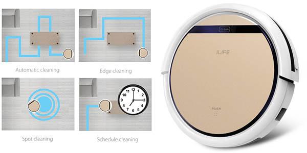 ILIFE V5S Pro con varios modos de limpieza