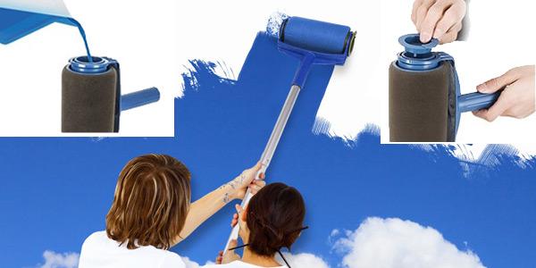 Rodillo con depósito de pintura integrado chollazo en Gearbest