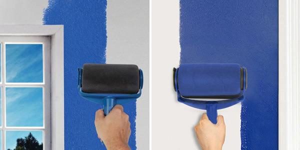 Rodillo con depósito de pintura integrado chollo en Gearbest