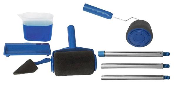 Rodillo con depósito de pintura integrado barato en Gearbest