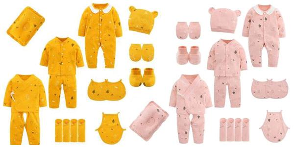 Conjunto de ropa para bebé chollo en AliExpress