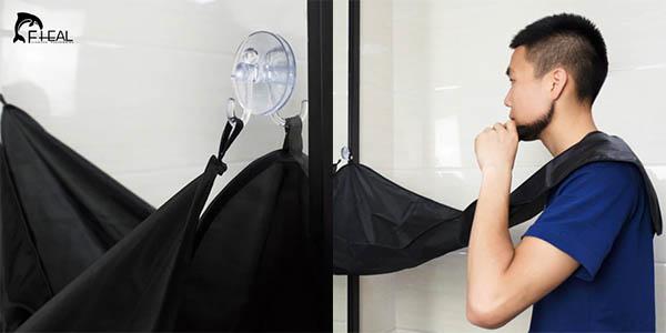 Sábana con ventosas para afeitado en AliExpress