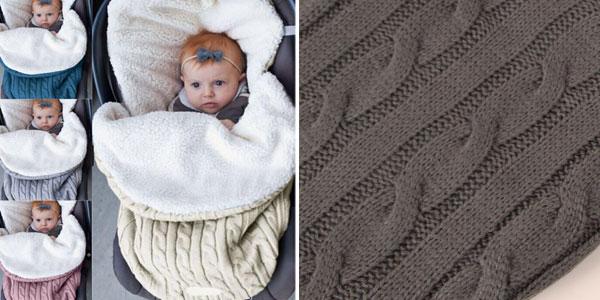 Saco de dormir de bebé para carrito chollazo en AliExpress