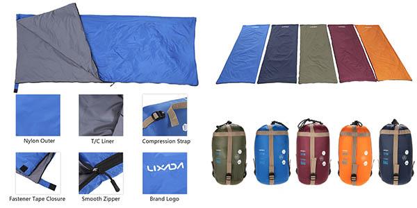 Saco de dormir en varios colores
