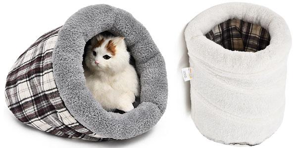 Sacorefugio de algodón para gatos rebajado