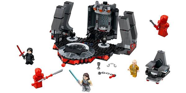 Sala del trono de Snoke de Star Wars estilo LEGO en AliExpress