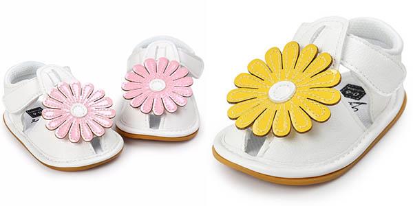 Sandalias para niña en varios colores