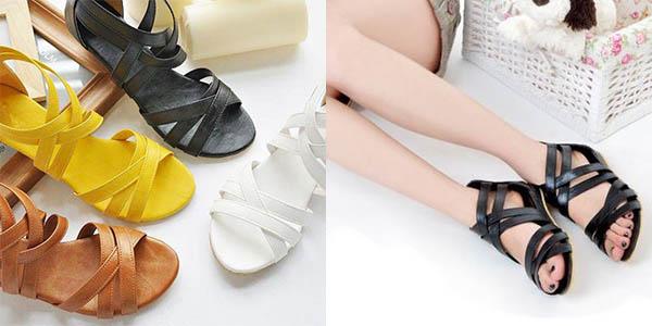 Sandalias para mujer en varios colores