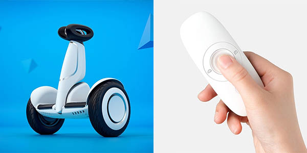 Scooter Xiaomi Ninebot Plus con control remoto