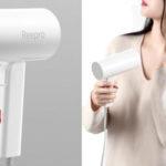 Secador de pelo de viaje Xiaomi Reepro barato en AliExpress