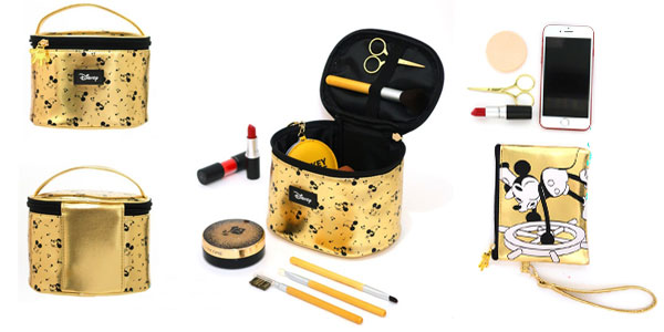 Selección de bolsos dorados de Disney Mickey Mouse chollazo en AliExpress