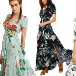 Selección Vestidos maxi largos con manga corta baratos en AliExpress