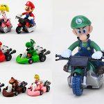 Set de 10 figuras de Super Mario Kart en oferta