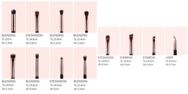 Set de 12 pinceles de maquillaje MSQ en AliExpress