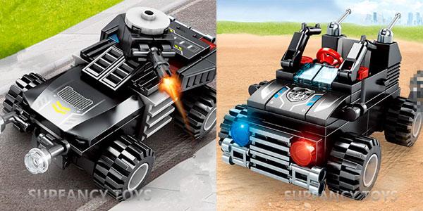 Set Camión Swat 8 en 1 de tipo LEGO barato