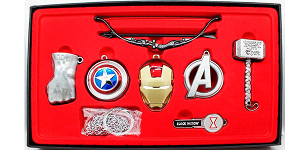 Set de coleccionismo de Los Vengadores en varios modelos barato