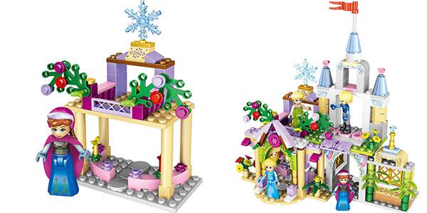 Set Frozen tipo LEGO con 4 personajes barato