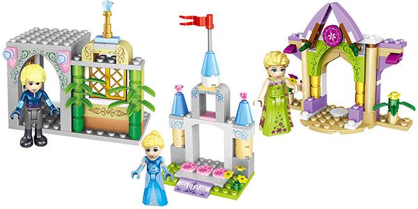 Set Frozen tipo LEGO con 4 personajes al mejor precio