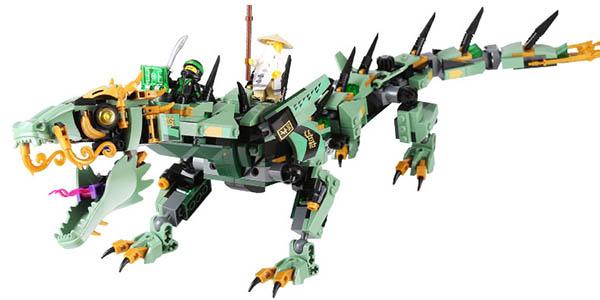 Dragon Ninja tipo LEGO en AliExpress