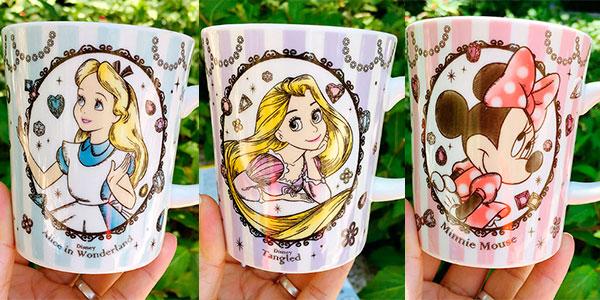Set Taza y cuchara Disney de cerámica en varios modelos barato