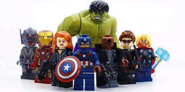 Set Vengadores de tipo Lego barato