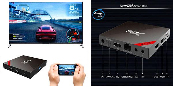 Smart TV-Box X96 de 2 GB barato