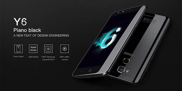 Smartphone Doogee Y6 Piano Black