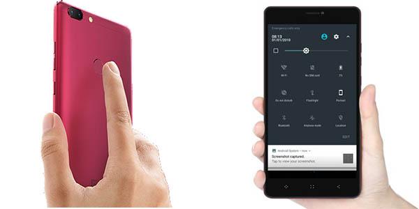 Elephone C1 Max en color negro o rojo vino