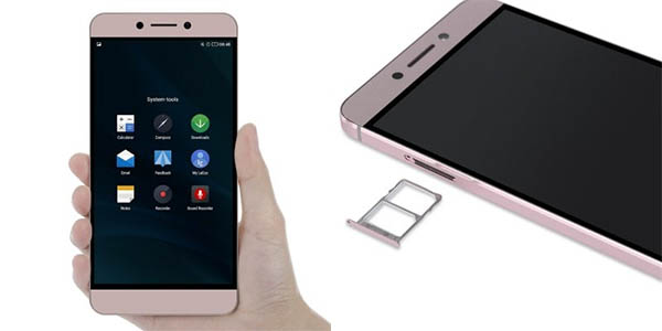 Smartphone LeEco 2 X520 en color oro rosado