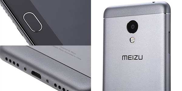Meizu M3S en color gris