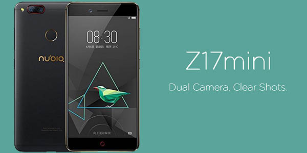 Smartphone Nubia Z17 Mini 4G