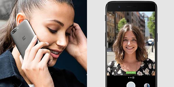 OnePlus 5 con cámara dual