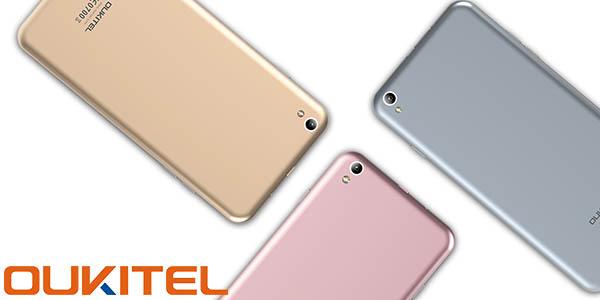 Smartphone Oukitel U7 Max en varios colores