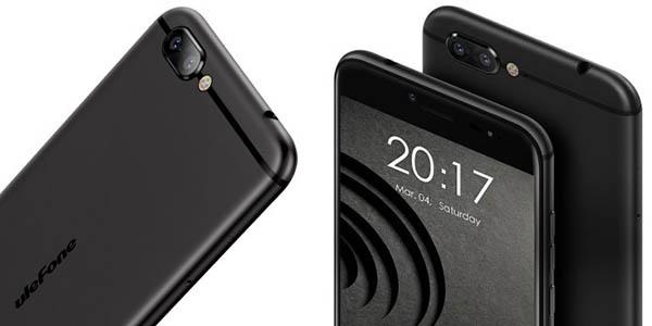 Ulefone Gemini Pro en color negro