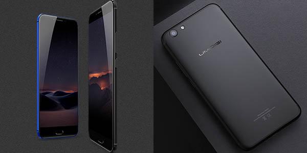 Smartphone UMIDIGI C Note 2 en azul o negro