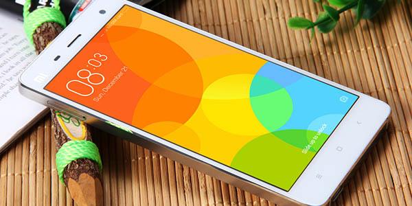Xiami Mi4 en color blanco