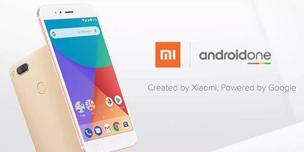 Smartphone Xiaomi Mi A1 con Android One