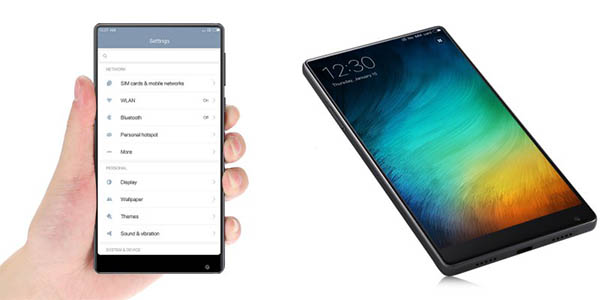 Xiaomi Mi MIX 18K sin bordes