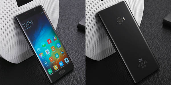 Smartphone Xiaomi Mi Note 2 en color negro