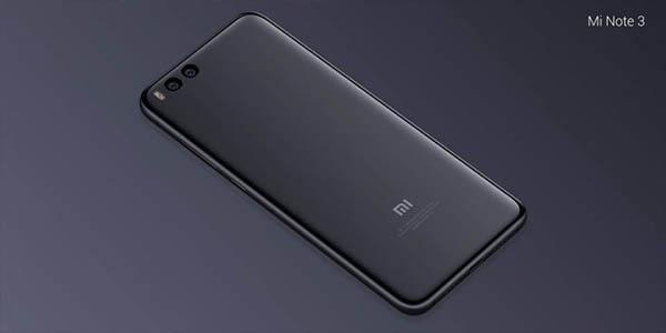 Smartphone Xiaomi Mi Note 3 barato