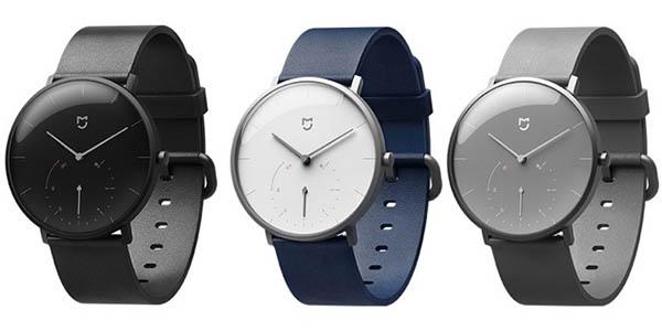 smartwatch híbrido Xiaomi Mijia Quartz en varios colores