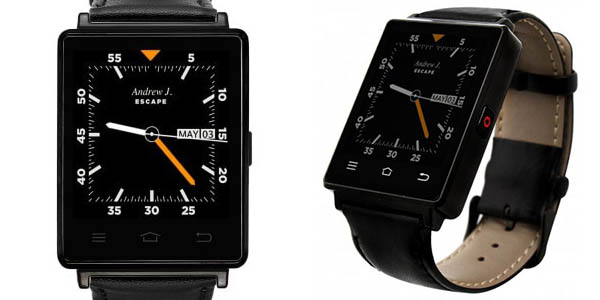 Smartwatch NO.1 D6 con Android y 3G